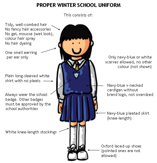 should college students wear school uniform Below is an essay on student should not wear school uniforms from anti essays, your source for research papers, essays, and term paper examples.